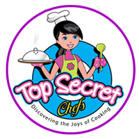 Top Secret Chefs America's Spectacular Cooking Programs For Kids. Logo